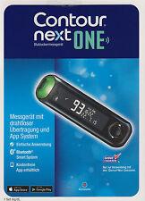 Neu: Contour Next One Blutzucker-Messgerät mg/dl plus Teststreifen -neu+OVP v FH