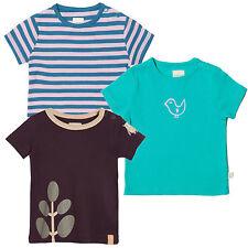 Living Crafts Bebé Camiseta De Niño Niña Bio Algodón Camiseta 62-92 Azul Joven