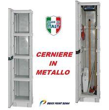 MOBILE CONTENITORE BOX IN RESINA PER ESTERNO GIARDINO CERNIERE IN METALLO  BAULE