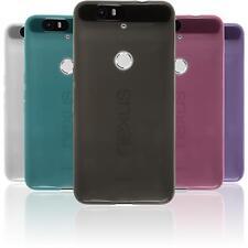 Coque en Silicone Google Nexus 6P - transparent  + films de protection