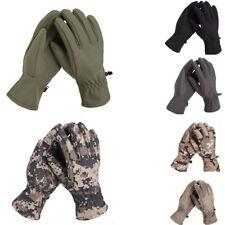Outdoor Tactical Waterproof Shark Skin Soft Shell Warm Fleece Lining Camo Gloves