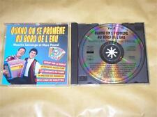 CD MAURICE LARCANGE QUAND ON S'PROMENE AU BORD DE L'EAU