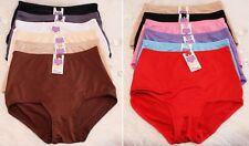 Grace 999 High Waist Hipster Hiphugger Plus Size Panty Undie Underwear 6pk