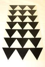 """12"""" BLACK HAWAIIAN HAWAII TRIBAL TRIANGLE ARROWS Vinyl Car Window Decal Sticker"""