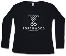 Torchwood Institute Logo da Donna Manica lunga T-Shirt Series DOCTOR WHO SIMBOLO sign