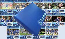 Temporada 2001-02 Everton Fc Club De Fútbol Álbum De Estampilla & Victoria Tarjeta Maxi cubre