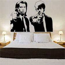 BANKSY Pulp Fiction pegatinas de pared Arte Graffiti Street