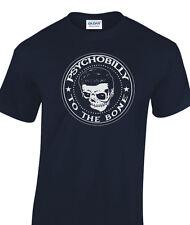 T-shirt à Hommes Biker Rocker rock and roll & aux os rockabilly