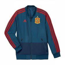 Chaqueta adidas Previa España 2017-2018 Niño Tribe blue-Red