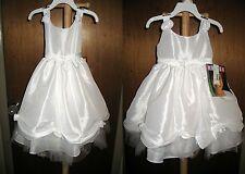 Toddler Flower Girl Communion Easter Dress Ivory White Eggshell 2T & 4T NEW NWT
