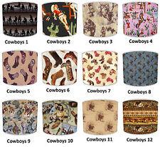abat-jour qui convient COW-BOY Papier peint, Cowgirl couverture &