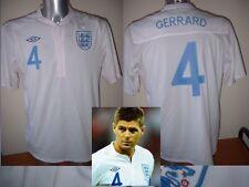 England GERRARD BNWT Adult M-XXL Liverpool Football Soccer Shirt Jersey Top 2010