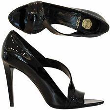 Viktor& Rolf sandalo  spuntata vernice, patent sandal