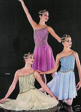 GREEN Ladanse Lyrical Dance Dress Ballet Costume CLEARANCE! Child S