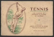 1930s John Player & Sons TENNIS Card Album w/All Cards