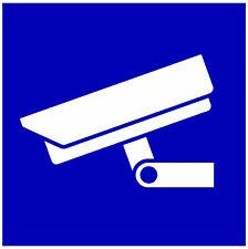 Aluminium, Hinweisschild, Videoüberwachung, Schild, Video, versch. Größen