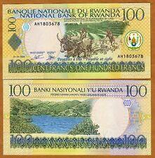 Rwanda, 100 Francs, 2003, Pick 29 (29b) Unc