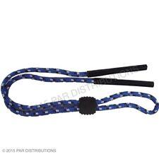 Blue Stripe Sports Neck Strap Cord Reading Glasses Spectacles Sunglasses Sun UK