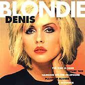 cd Blondie - Denis  1970s 1980s new wave punk pop
