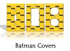 Batman Light Switch Covers DC Comics Home Decor Outlet