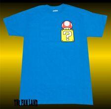 Nintendo Super Mario Bros 85 Mushroom Box Vintage Mens T-Shirt