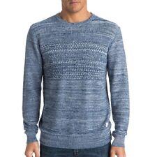 Quiksilver Ransom Picks Hoodie suéter suéter camisa Sweater Blue Blue eqyaw 03169