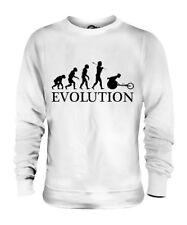 WHEELCHAIR SPRINTER EVOLUTION OF MAN UNISEX SWEATER MENS WOMENS LADIES GIFT