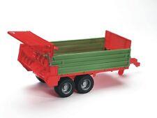 Bruder 02209 Stalldungstreuer Miststreuer Anhänger für Traktor  Bworld