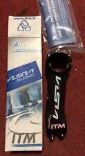 Attacco manubrio bici corsa 31.8 ITM Visia lite alu-carbon road bike stem