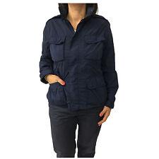 ASPESI giacca donna sfoderata blu DAKARINA N713 C251 100% poliammide extra slim