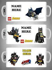 Personalised Lego Batman Mug Novelty Cup Movie Superhero Gift