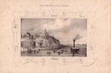 ST. Florent Saint-Florent-le-Vieil Maine-et-Loire litografia Arnout 1830 Franchi