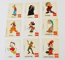 Coca Cola Coke Disney Figurine Adesivi Adesivo Perù 1980 lui