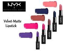 NYX Professional Make-up Matte-Velvet Lipstick-Long Lasting-Choose Shade!
