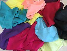 Chifón Bufanda Estola 175-200 x 45cm a Vestido de fiesta y baile Muchos Colores