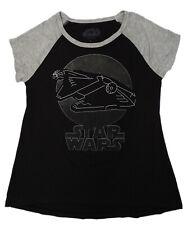 Star Wars Womens Princess Leia White Crewneck Graphic T-Shirt Top S BHFO 9462