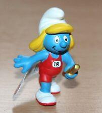 Smurfs - Relay Running Smurfette 2012 Sports Smurf (20739)