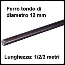 barra tonda in ferro pieno profilo tondo tondino tondini di diametro 12 mm barre