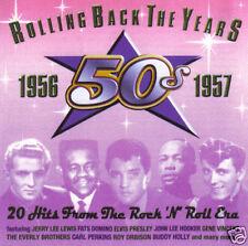 V/A - Rolling Back The Years: 1956-1957 (UK 20 Tk CD Album)