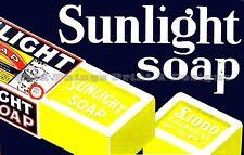 RETRO METAL PLAQUE :SUNLIGHT SOAP sign/ad