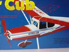 DPR Tradl Balsa Built Laser Cut Model Aircraft Hyper Cub,Cessna 180 & Racer LOOK