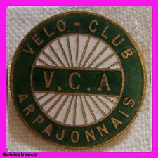 BG3314 - INSIGNE CYCLISME VCA VELO CLUB ARPAJONNAIS