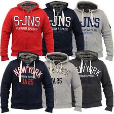 mens jacket Smith & Jones hooded top sherpa fleece lined NYC casual winter new