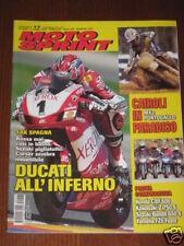 MOTOSPRINT 2005/17 SBK CORSER CROSS CAIROLI PARADISO!!!
