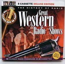 Great Western Radio Shows-16 Programs-8 Cassette