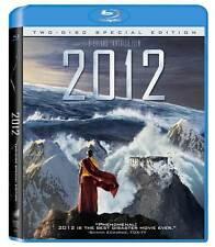 2012 (Blu-ray Disc, 2010, 2-Disc Set, Includes Digital Copy)