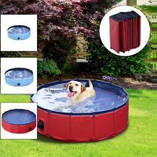 Pawhut Hundebadewanne Hundepool Badewanne Swimmingpool Wasserbecken für Hunde