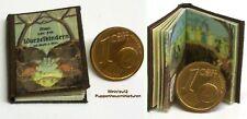 1007# Miniaturbuch Wurzelkinder  - Puppenhaus - Puppenstube - im M 1zu12
