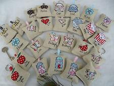 Handmade Lavender Keyring, Choice of design & Personalisation, Stocking Filler