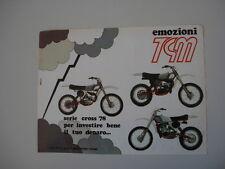 advertising Pubblicità 1978 MOTO TGM SERIE CROSS '78